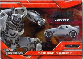 Transformers Topps Movie Trading Cards Foil Card 4 of 10 Autobot Jazz