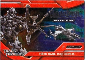 Transformers Topps Movie Trading Cards Foil Card 8 of 10 Decepticon Megatron