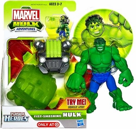 Marvel Playskool Hulk Adventures Fist-Smashing Hulk