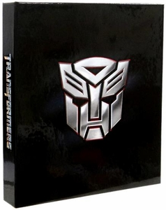 Transformers Dark of the Moon 9-Pocket Binder [with Puzzle Foil Card Set & Dog Tags]