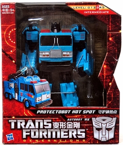 Transformers Generations Voyager Action Figure Protectobot Hot Spot