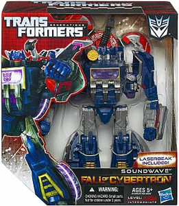 Transformers Generations Voyager Action Figure Soundwave & Laserbeak [Fall of Cybertron]