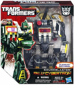 Transformers Generations Voyager Action Figure Soundblaster & Buzzsaw [Fall of Cybertron]