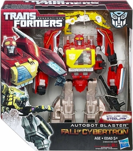 Transformers Generations Voyager Action Figure Autobot Blaster & Steeljaw [Fall of Cybertron]