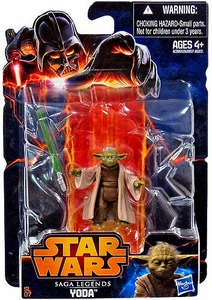 Star Wars 2013 Saga Legends Action Figure Yoda