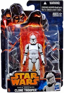 Star Wars 2013 Saga Legends Action Figure Clone Trooper