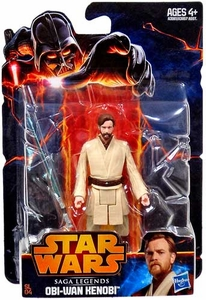 Star Wars 2013 Saga Legends Action Figure Obi Wan Kenobi