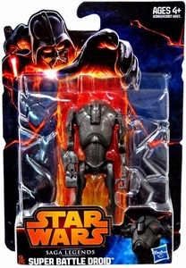 Star Wars 2013 Saga Legends Action Figure Super Battle Droid