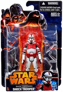 Star Wars 2013 Saga Legends Action Figure Clone Shock Trooper
