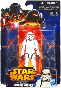 Star Wars 2013 Saga Legends Action Figure Storm Trooper New!
