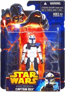 Star Wars 2013 Saga Legends Action Figure Captain Rex New!