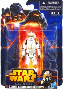 Star Wars 2013 Saga Legends Action Figure Commander Cody New!