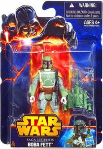 Star Wars 2013 Saga Legends Action Figure Boba Fett New!