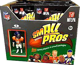 McFarlane Toys NFL Small Pros Series 1 Mini Figure Mystery Box [32 Booster Packs]