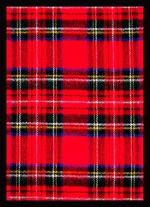 Legion Art Card Supplies STANDARD Card Sleeves Tartan Plaid [50 Sleeves]