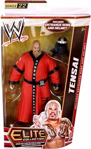 Mattel WWE Wrestling Elite Series 22 Action Figure Tensai [Entrance Robe & Helmet!]