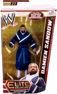 Mattel WWE Wrestling Elite Series 22 Action Figure Damien Sandow [Entrance Robe & Microphone!]