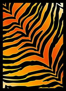 Legion Art Card Supplies STANDARD Card Sleeves Tiger Print [50 Sleeves]