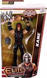 Mattel WWE Wrestling Elite Series 22 Action Figure Kane [Tag Team Championship Belt & Entrance Mask]