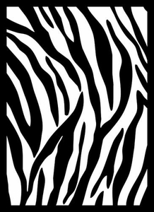 Legion Art Card Supplies STANDARD Card Sleeves Zebra Print [50 Sleeves]