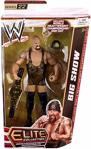 Mattel WWE Wrestling Elite Series 22 Action Figure Big Show [World Heavyweight Championship Belt & Hat!]