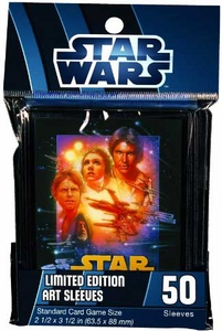 Fantasy Flight Card Supplies STANDARD Card Sleeves Star Wars A New Hope [50 Sleeves]