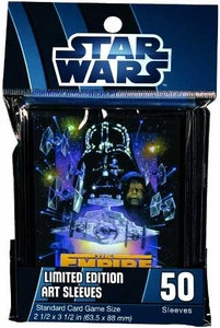 Fantasy Flight Card Supplies STANDARD Card Sleeves Star Wars Empire Strikes Back  [50 Sleeves]