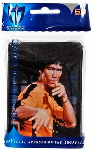Max Protection Card Supplies STANDARD Card Sleeves Bruce Lee [50 Count]
