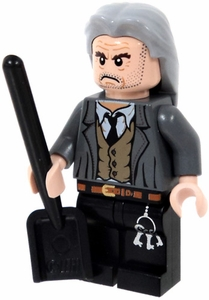 LEGO Harry Potter LOOSE Mini Figure Argus Filch with Shovel