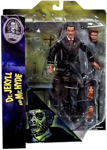 Mezco Universal Monsters 9 Inch Scale Figure Dr. Jekyll & Mr. Hyde