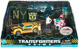 Transformers Prime NYCC 2011 New York Comic-Con Exclusive Action Figure 2-Pack Bumblebee & Arcee