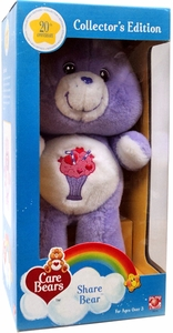 Care Bears 20th Anniversary Collector's Edition 10 Inch Plush Share Bear