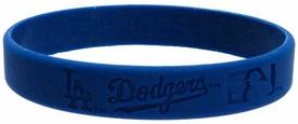 Official MLB Team Rubber Bracelet L. A. Dodgers [Blue]