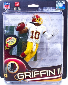 McFarlane Toys NFL Sports Picks Series 32 Action Figure Robert Griffin III (Washington Redskins) Red Helmet