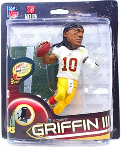 McFarlane Toys NFL Sports Picks Series 32 Action Figure Robert Griffin III (Washington Redskins) No Helmet Collector Level Only 3,000 Made!
