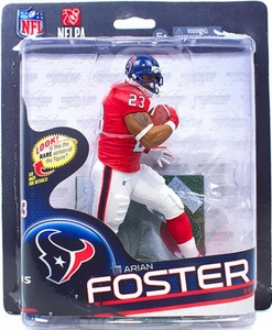 McFarlane Toys NFL Sports Picks Series 32 Action Figure Arian Foster (Houston Texans) Red Jersey Collector Level Only 1,000 Made!