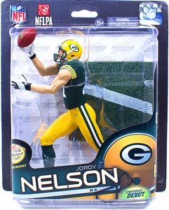 McFarlane Toys NFL Sports Picks Series 32 Action Figure Jordy Nelson (Green Bay Packers) Green Jersey