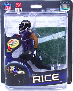 McFarlane Toys NFL Sports Picks Series 32 Action Figure Ray Rice (Baltimore Ravens) Purple Jersey