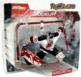 McFarlane Toys NHL Sports Picks Series 1 Action Figure Martin Brodeur (New Jersey Devils) Devils Logo on Water Bottle Variant