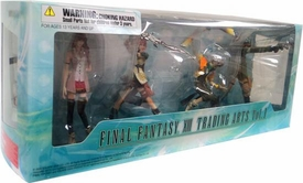 Final Fantasy XIII Trading Arts Volume 1 Boxed Set of 4 Action Figures [Serah, Lightning, Hope & Sazh]