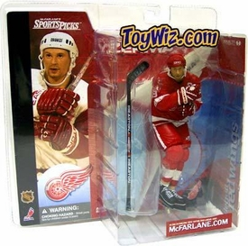 McFarlane Toys NHL Sports Picks Series 1 Action Figure Steve Yzerman (Detroit Red Wings) Red Jersey & Red Pants Variant