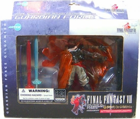 Final Fantasy VIII Guardian Force Collection Action Figure Guardian Force Gilgamesh [Clear Version] Damaged Package, Mint Contents!