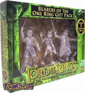 Lord of the Rings Trilogy Fellowship of the Ring Bearers of The One Ring Gift Pack BLOWOUT SALE!