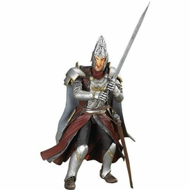 Lord of the Rings Trilogy Fellowship of the Ring Action Figure King Elendil [Sword Slashing]
