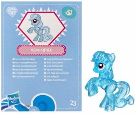 My Little Pony Friendship is Magic 2 Inch PVC Figure Series 3 Glitter Shoeshine [Blue Card]