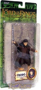 Lord of the Rings Trilogy Fellowship of the Ring Action Figure Series 1 Frodo with Sword Attack Action