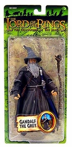 Lord of the Rings Trilogy Fellowship of the Ring Action Figure Series 2 Gandalf the Grey