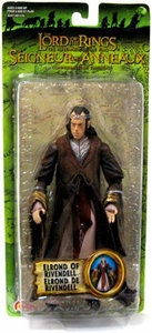 Lord of the Rings Trilogy Fellowship of the Ring Action Figure Series 3 Elrond Of Rivendell  [Bilingual Packaging]