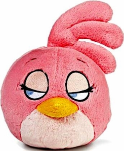 Angry Birds 8 Inch DELUXE Plush With Sound Pink Bird