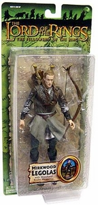Lord of the Rings Trilogy Fellowship of the Ring Action Figure Series 4 Mirkwood Legolas [Woodland Realm Weaponry]